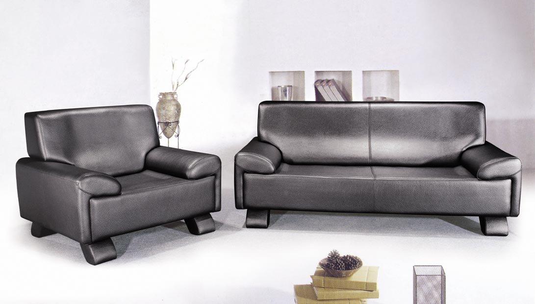Office Furniture Full Grain Leather Sofa/ Reception Sofa - Buy