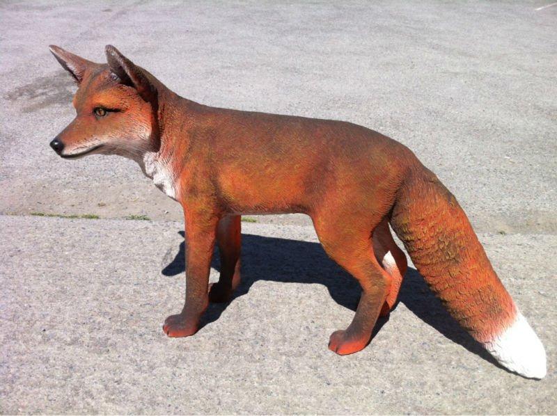 The Fox Statue Garden Decoration