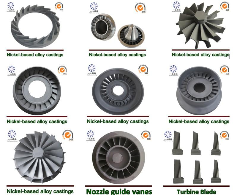 Inconel 713 718lc 738lc Vacuum Casting For Metal