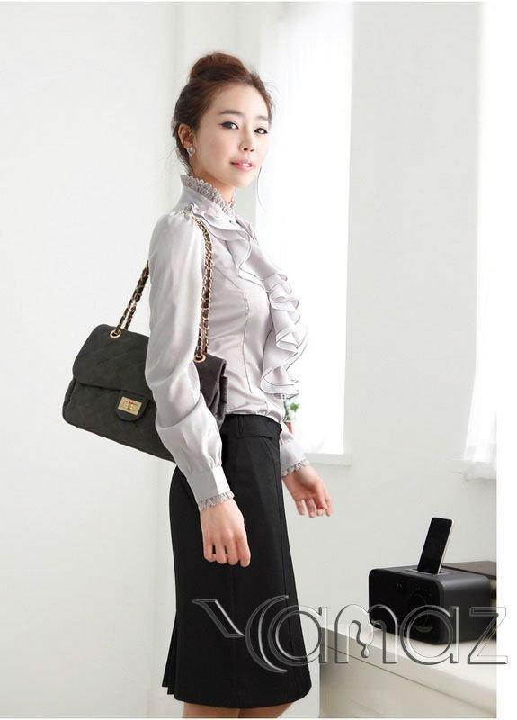 Hot Selled Customized Ladies Office Career Uniform 23 Buy Ladies