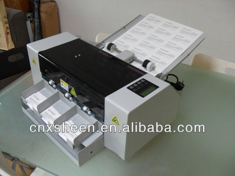 A3 Automatic Business Card Cutter Machine,Business Card Cutting ...