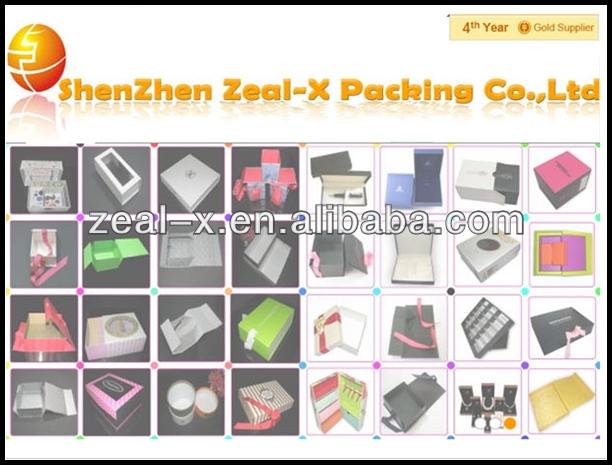 White Carton Corrugated Gift Box Supplier China Shenzhen Suppliers ...