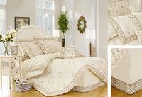 9pcs 180tc Polycotton Cozy Home Comforter Set Lace King Size ...