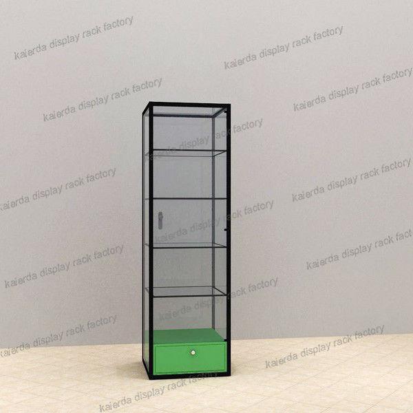 Lockable Living Room Modern Glass Display Cabinet - Buy Glass ...