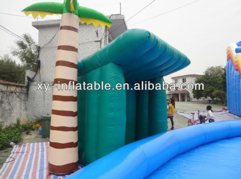 Extrêmement Taille Adulte Piscine Gonflable Avec Toboggan Gonflable Grand  NH61