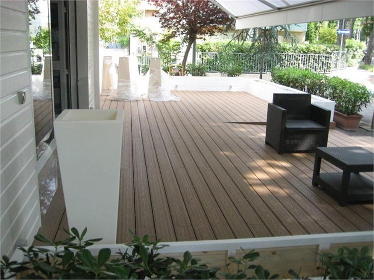 Swiming pool edging area exterior decking floor wood for Outdoor decking boards