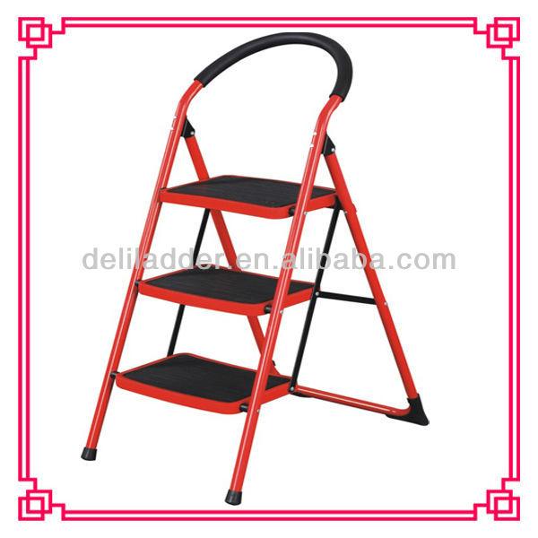 Swell Folding Step Stool Foldable Heavy Duty 5 Steel Wide Step Ladder Stepladder Non Slip Tread Safety Kitchen Stool Domestic Ladder Buy 5 Step Machost Co Dining Chair Design Ideas Machostcouk