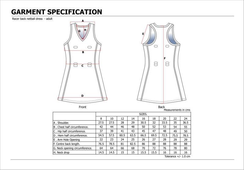 Bodysuit netball dresses images