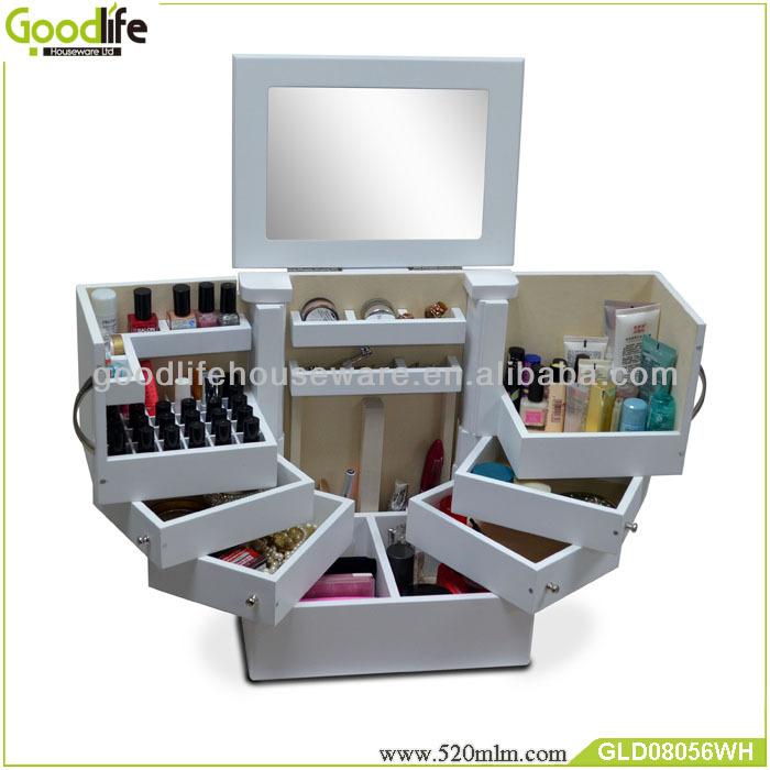 Goodlife Makeup Storage Drawers Makeup Cabinet Bedroom Furniture ...
