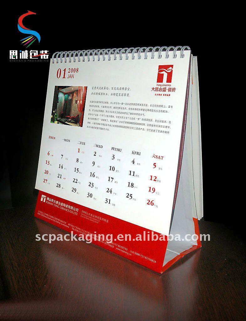 practical desk calendar View table calendars creative design SC – Calendar Sample Design