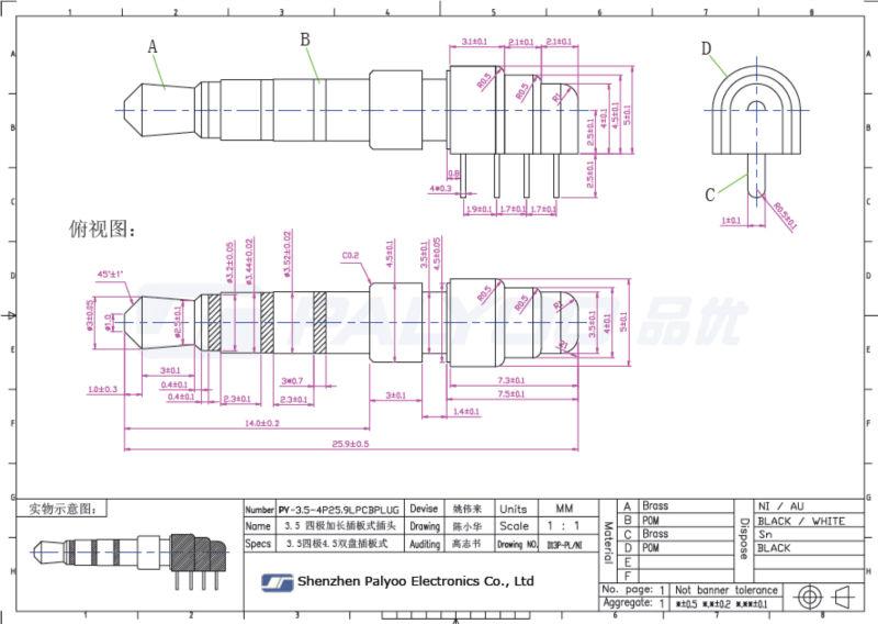 3 5mm 4pin Audio Plug Wiring | #1 Wiring Diagram Source  Mm Pin Plug Wiring Diagram on