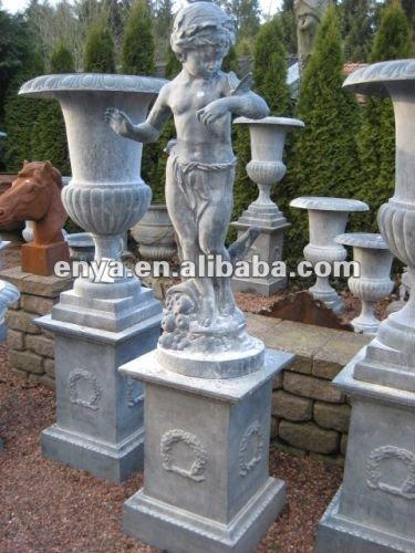 Estatua Del Jardin Con La Mariposaescultura Al Aire Libreventa - Estatuas-de-jardin
