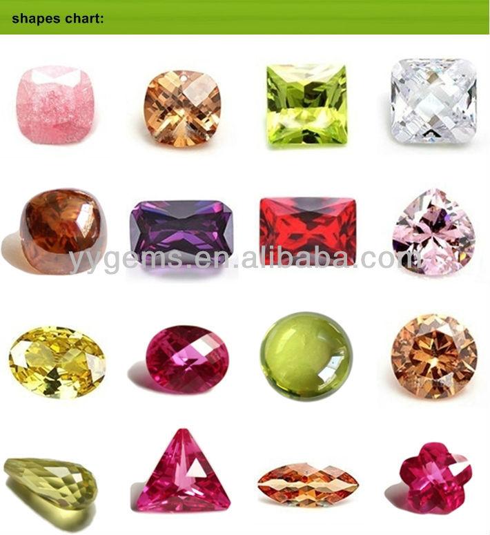 High Quality Marquise Diamond Cut Cubic Zirconia Gemstone In Bulk ...