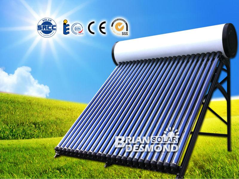 S n gal 150l tubes sous vide chauffe eau solaire buy - Comment fonctionne une douche solaire ...