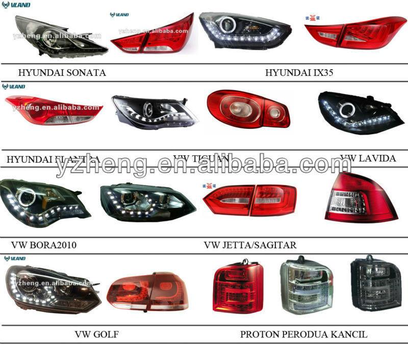 Auto Tail Lamp For 2008 2011 Hondas Accords Rear Light Taillamp ...
