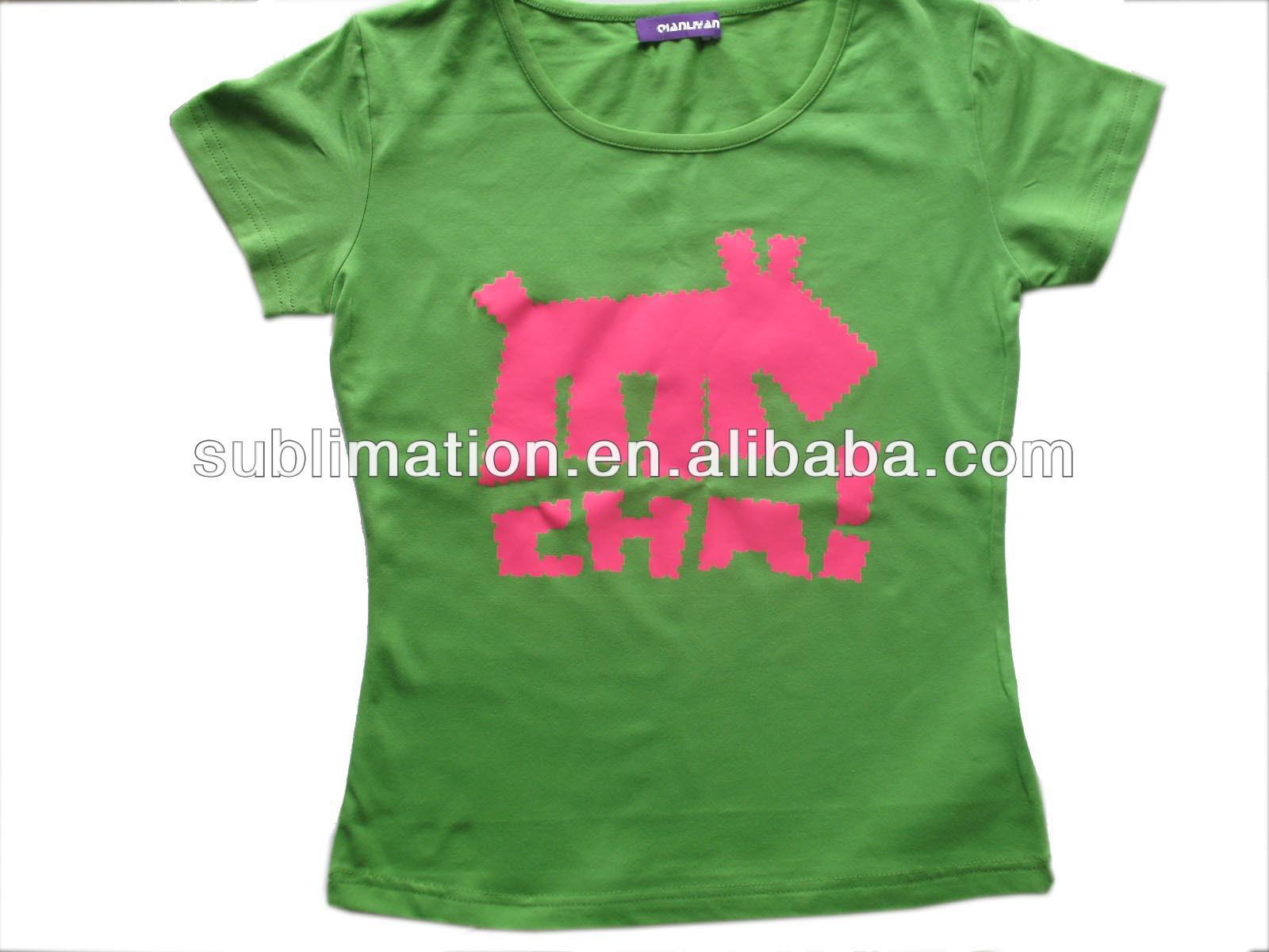 Black t shirt transfer paper - Cotton T Shirt Flock Badge Paper Sublimation Paper Sublimation Black T Shirt