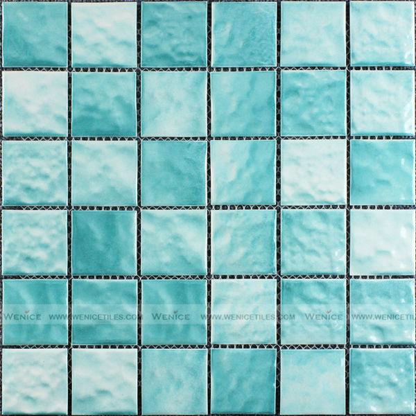 Céramique Turquoise Vitrage Texturé Mosaïque - Buy Texturé Mosaïque ...