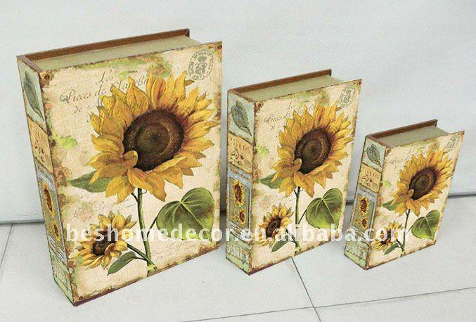 Decorative Fake Book Boxes Inspiration Wholesale Fake Book Box Decorativevintage Book Storage Box  Buy Decorating Design