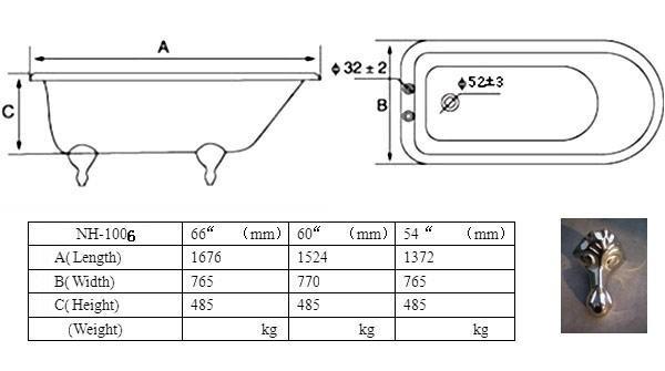 Small Tub Dimensions - Mobroi.com