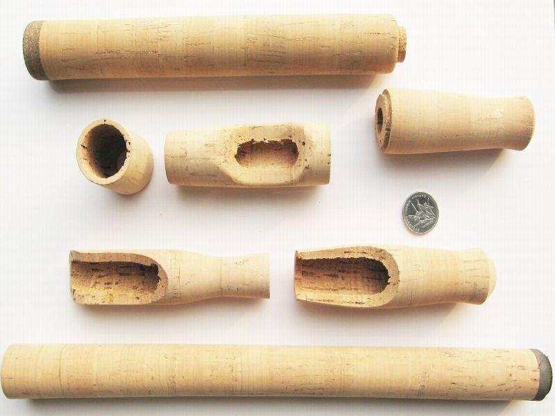 Leecork high quality cork handle for fishing rod or reel for Cork fishing rod handles