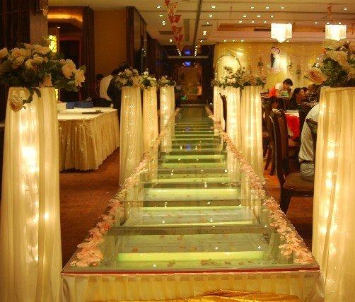 Led light stage indoor wedding stage decoration buy for Indoor stage decoration