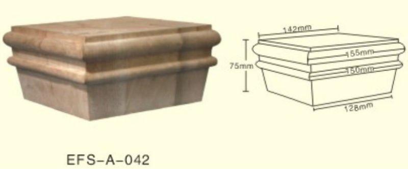 Por Unfinished Adjule Square Wood Furniture Legs Efs A 162