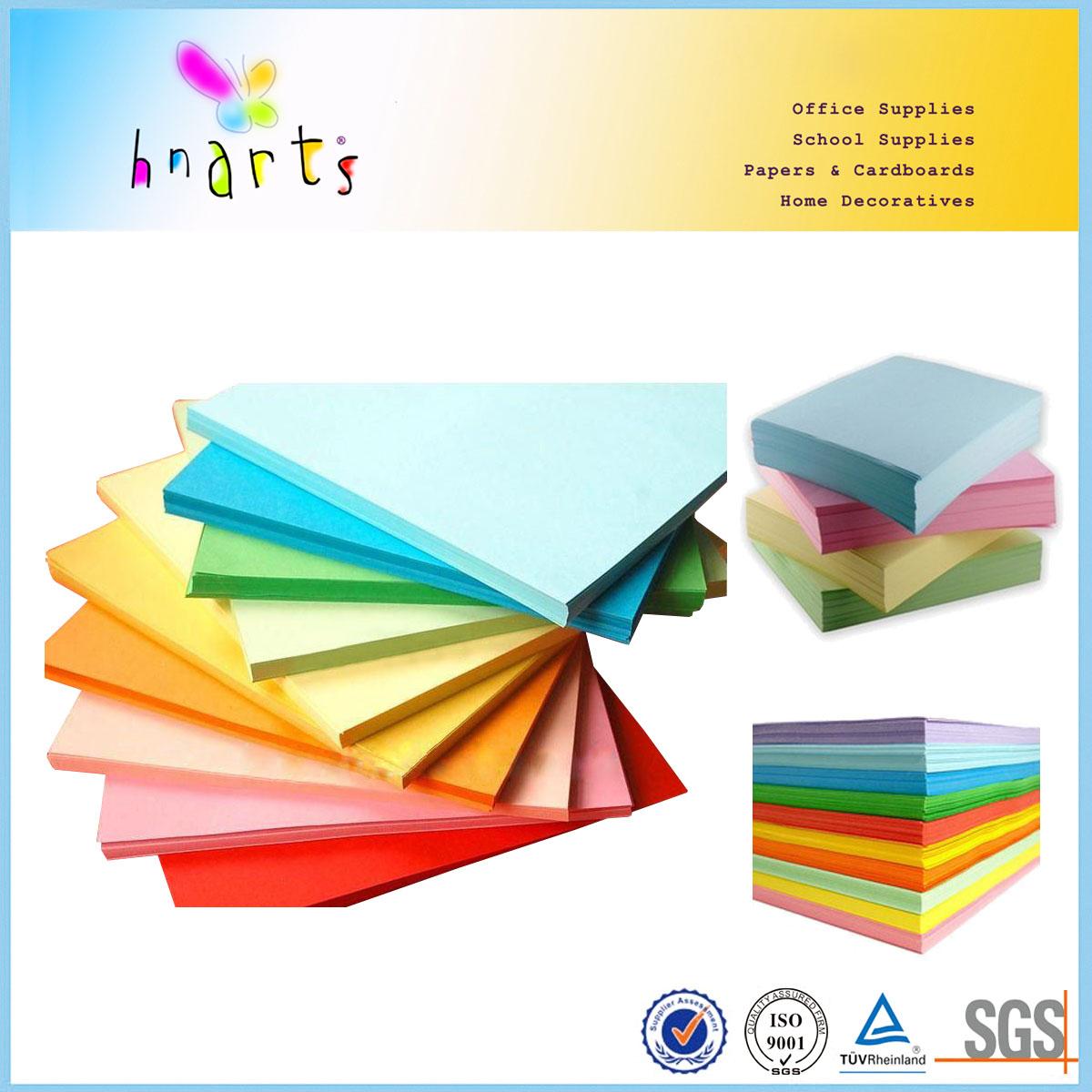 premium quality a3 size color paper woodfree color paper fsc color