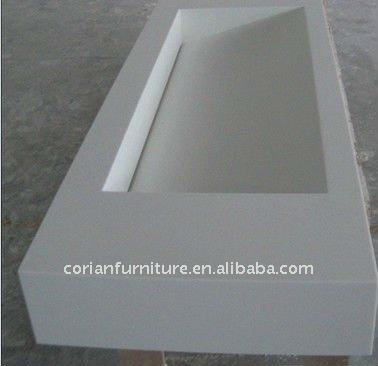 Corian Bathroom Vanity high quality solid wood and solid surface bathroom vanity - buy