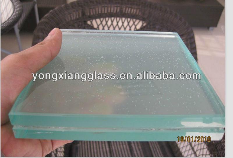 Preferred New Design Laminated Tempered Glass Floor,Crystal White Glass  JE27