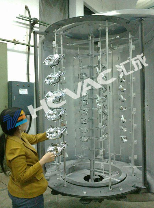 Plastic Car Parts Accessories Aluminium Vacuum Coating Machine Automatic Metalizing Metal