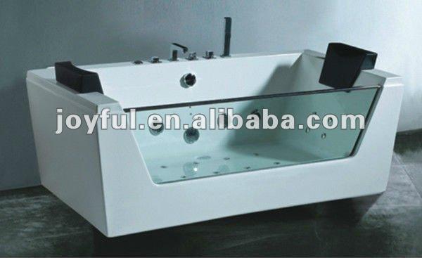 Vasca Da Bagno Vetro : Rettangolare vasca di vetro coperta sesso vasca da bagno a