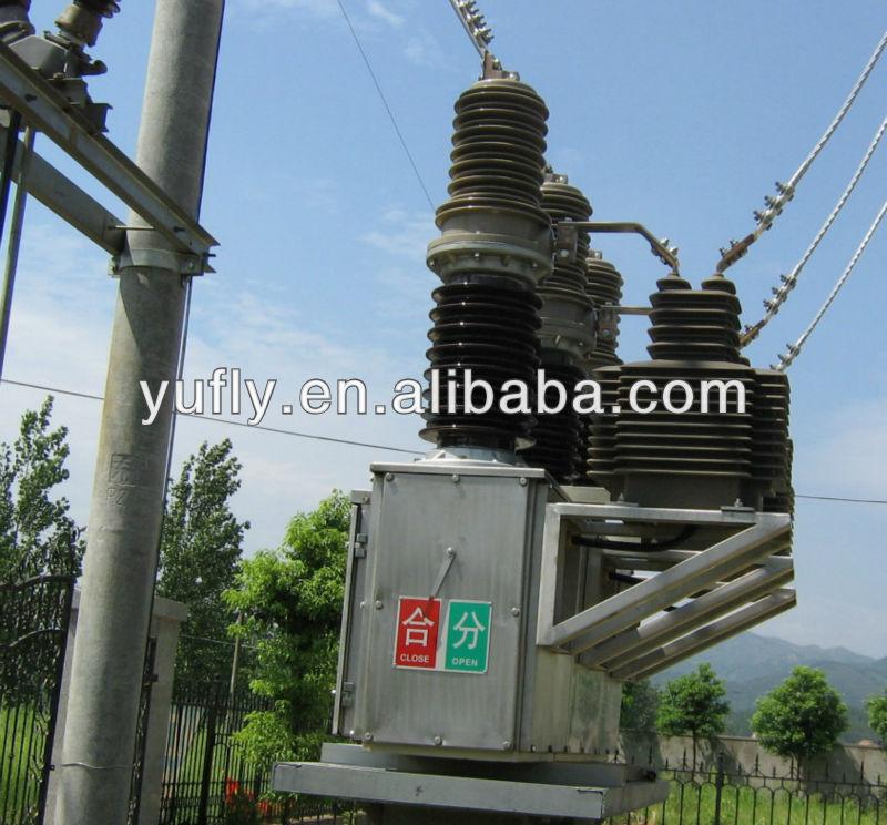 Chz7 36 Midium Voltage 3 Phase Outdoor Pole Mounted Ac