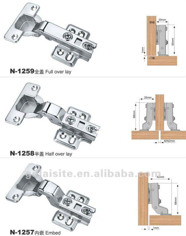 adjustable door hinges instructions