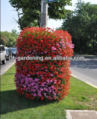 Hanging Basket Planter Greening Lamp Post Hanging