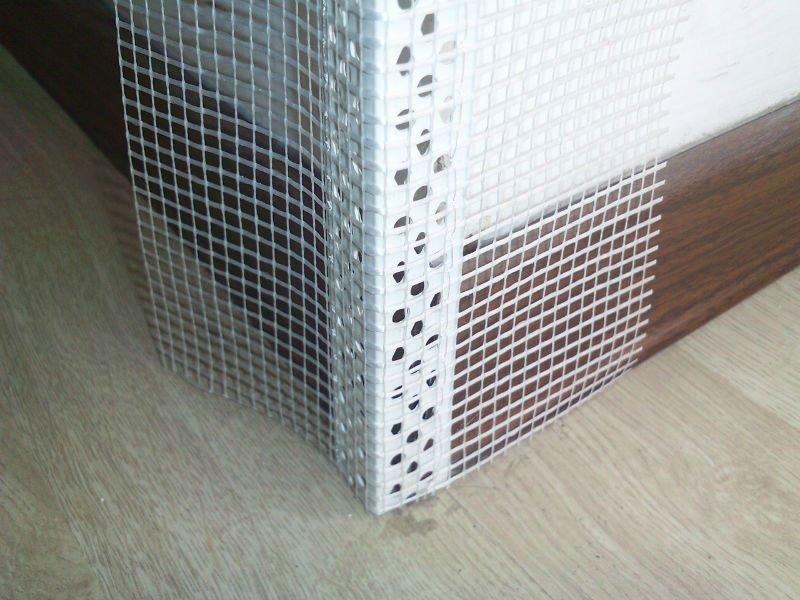 Alluminio piastrelle muro a secco paraspigolo pvc stucco