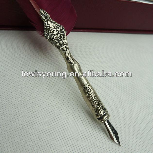 Fashion Wire Red Goose Dip Pen Set Buy Animal Goose