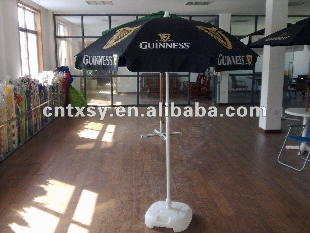 Guinness Logo Print Vinyl Tarpaulin Pvc Waterproof Fabric Patio Outdoor  Umbrella