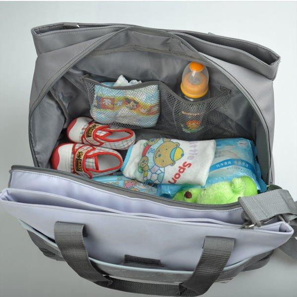 (XHF-MUMMY-027) microfiber mummy diaper bag