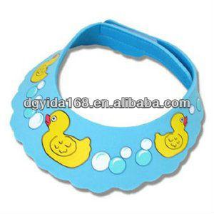 Eva Foam Baby Shower CapShampoo VisorBath Visor