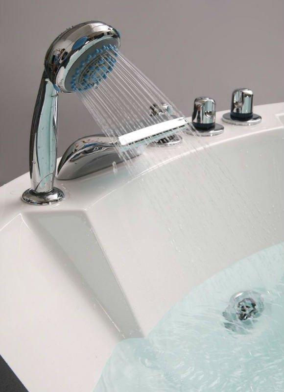Round Hot Tub, Drop In Hydromassage Bathtub, Massage Spa