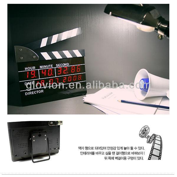 Directors Edition Digital Alarm Clock Manual Alarm Clock
