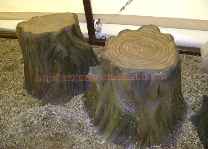 Decorative Artificial Fiberglass Tree Stumps Buy