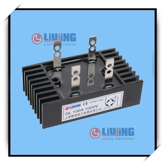 10 x KBPC 5010 50 A 1000 V Pont Redresseur Diode 10 g de dissipateur thermique composé