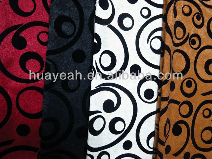 Patr n de terciopelo flocado tela para muebles buy - Telas para tapizar muebles ...