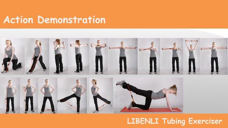 Exercise Resistance Band 8 Shaped Latex Tube Buy Figure