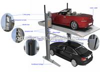 Ptj201-27 Automated Double Deck Car Parking /2 Columns Garage ...