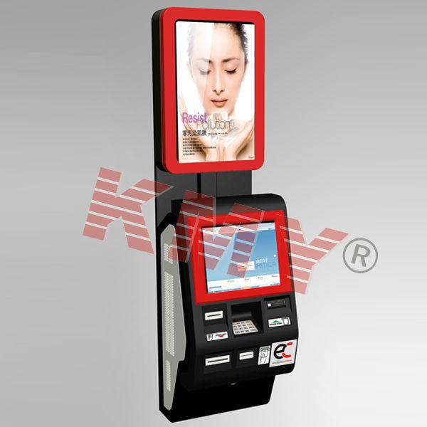 Bankwachtrij interactieve betaalkiosk, munteenheid mobiele ladingkiosk