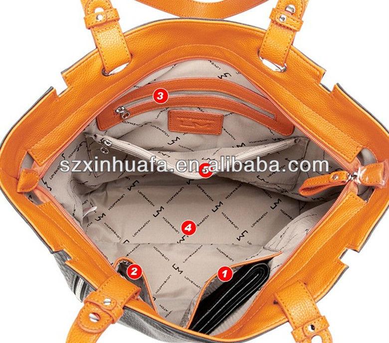 (XHF-LADY-244)simple practical Croc PU fashion lady bag