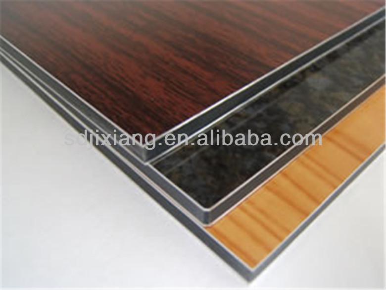 aluminium panneau composite 4 mm imitation bois panneau. Black Bedroom Furniture Sets. Home Design Ideas
