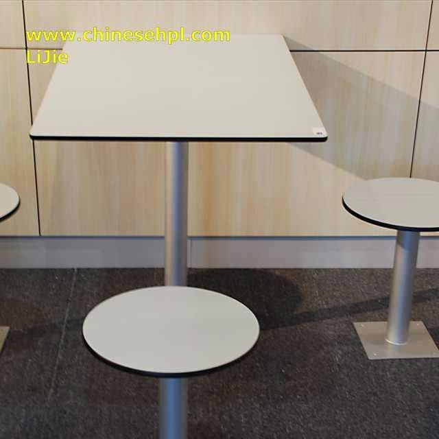 Lijie Phenolic Compct Laminate Table Top Black Kitchen Bench
